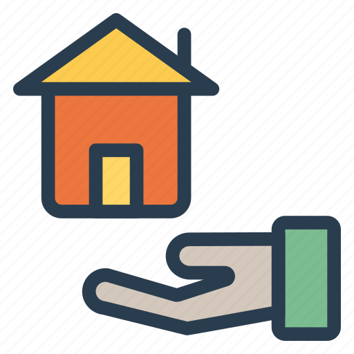 building, estate, guester, home, house, real icon