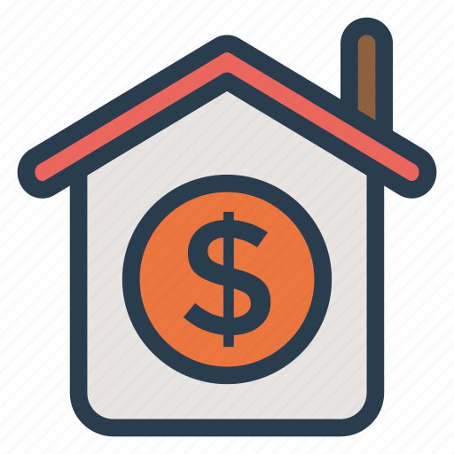 building, estate, home, house, mortgage, property, real icon