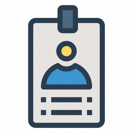 Idea Badge Id Icon Employee Card Identification Identity