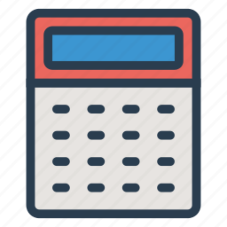 accounting, business, calculate, calculation, calculator, finance, math icon