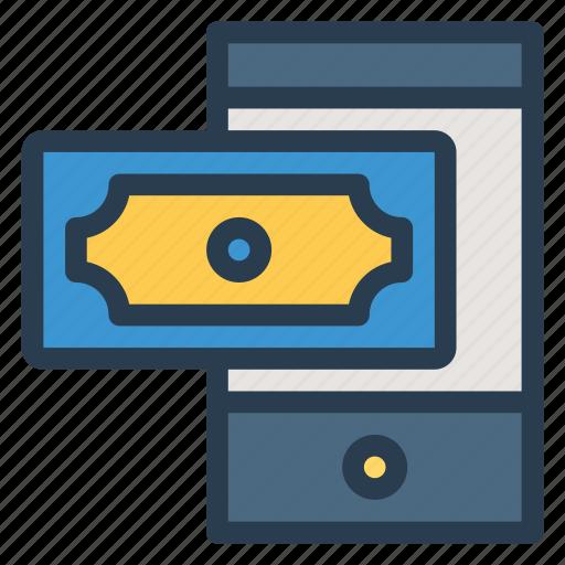 finance, mobile, mobilemoney, money, payment, phone, smartphone icon