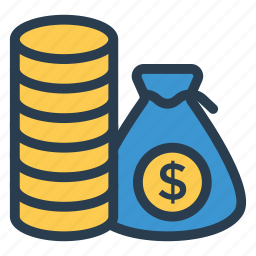 business, cash, currency, dollar, finance, money, moneybags icon
