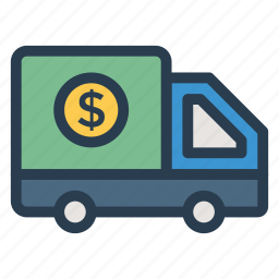 cashsecurity, currency, dollar, finance, money, payment, securityvehicle icon