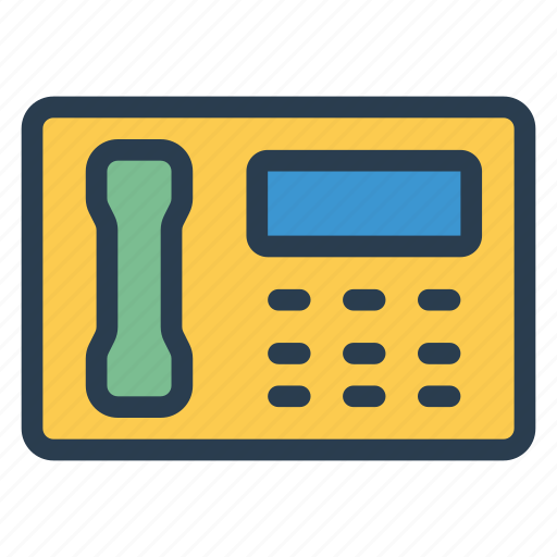 call, communication, contact, oldphone, phone, phonecall, telephone icon