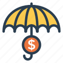 finance, money, protection, safety, secure, security, shield icon