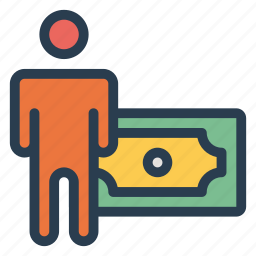 business, cash, finance, money, payment, payroll, salary icon