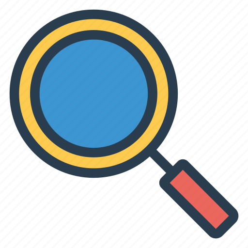 focus, magnifyingglass, megnifire, monitor, optimization, search, zoom icon