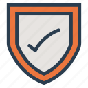 check, lock, protection, secure, security, securitycheckpoint, shield icon