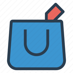 bag, cart, ecommerce, shipping, shop, shopping, shoppingbag icon