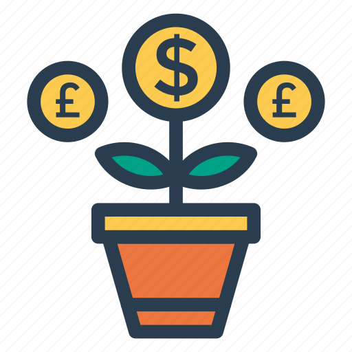 chart, finance, grow, growth, plantgrowth, statistic, success icon