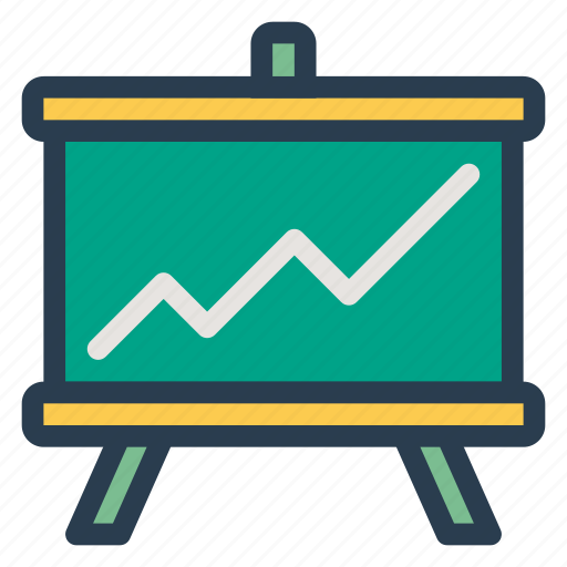 analytics, business, chart, graph, infographics, linegraph, statistics icon