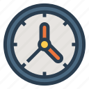 alarm, clock, clockvector, time, timer, wallclock, watch icon