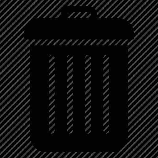 cancel, close, delete, recylbin, remove, trash, trashcan icon