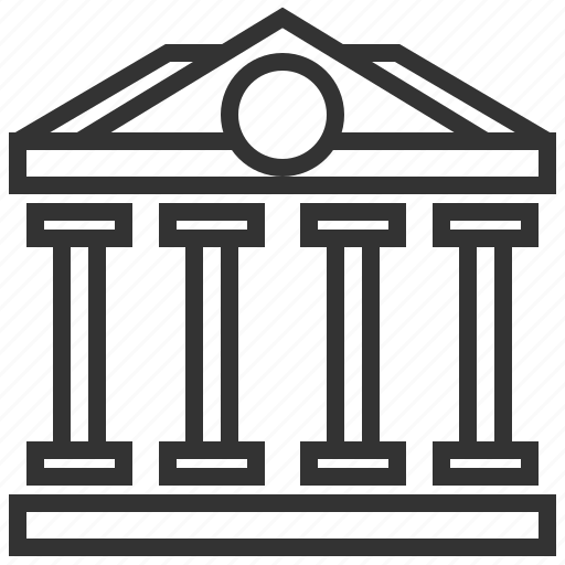 bank, banking, building, cash, money, payment icon
