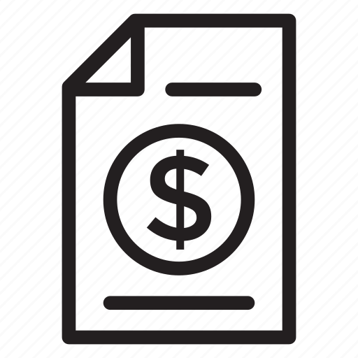 annualreport, business, chart, currency, finance, money, report icon