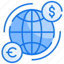 device, exchanging, global transfer, send, server icon