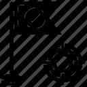 aim, dart, seo, target icon