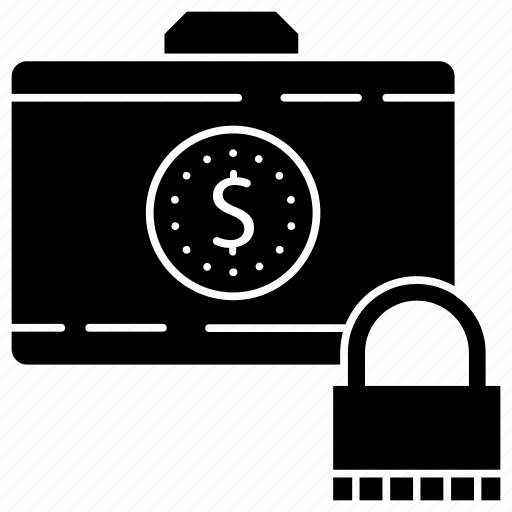 bag lock, directory, documents, jacket, portfolio icon