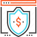 defense, money, online, protection, safety, security, shield