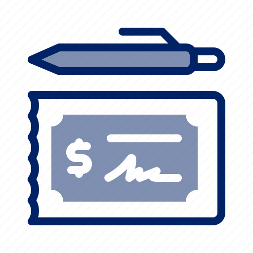 Banking, bill, business, check, cheque, finance, money icon - Download on Iconfinder
