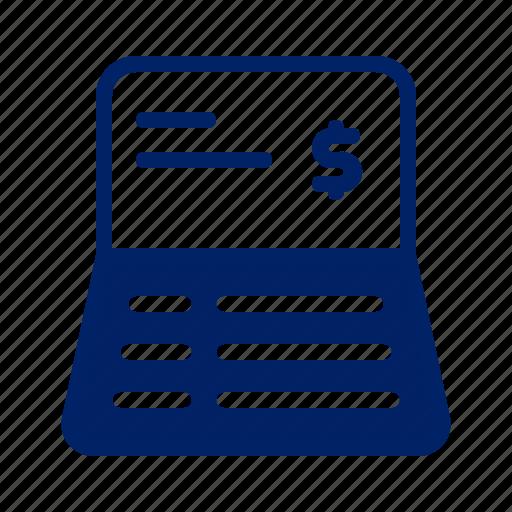 Account, banking, business, deposit, finance, money, passbook icon - Download on Iconfinder