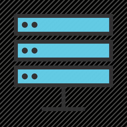 data, information, save, server, storage, store, system icon