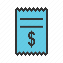 bill, cash, currency, dollar, monetary, money, payment icon