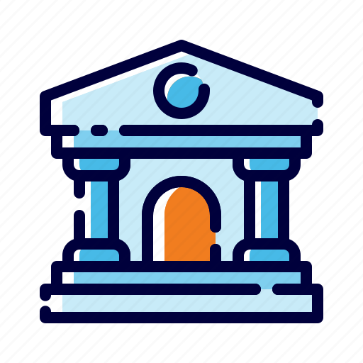 Bank, banking, building, business, finance, institution, money icon - Download on Iconfinder