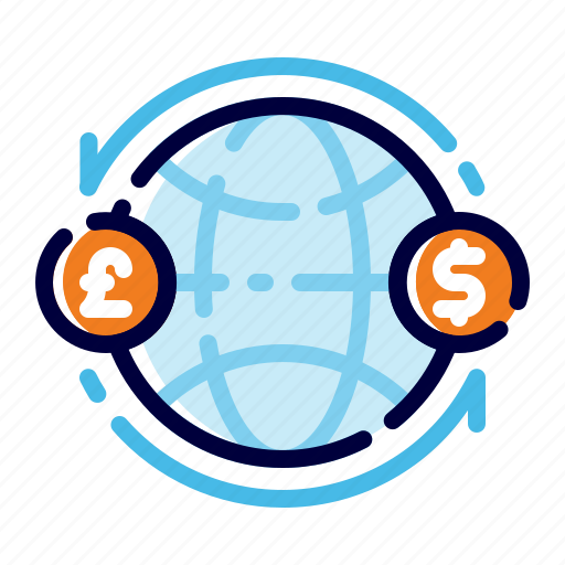Banking, business, finance, global exchange money, global finance, international transfer, money icon - Download on Iconfinder