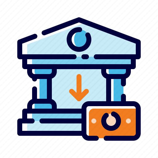 Bank, banking, business, cash, finance, money, withdraw money icon - Download on Iconfinder