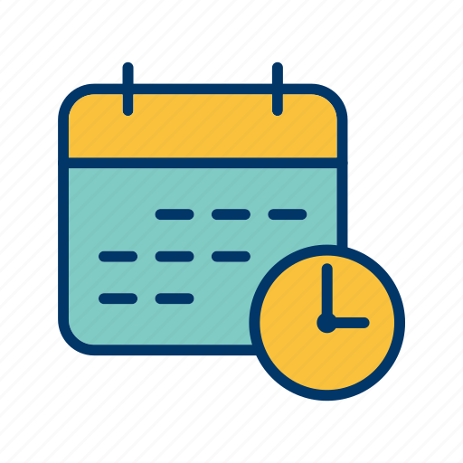 banking, business, calendar, deadline, schedule icon