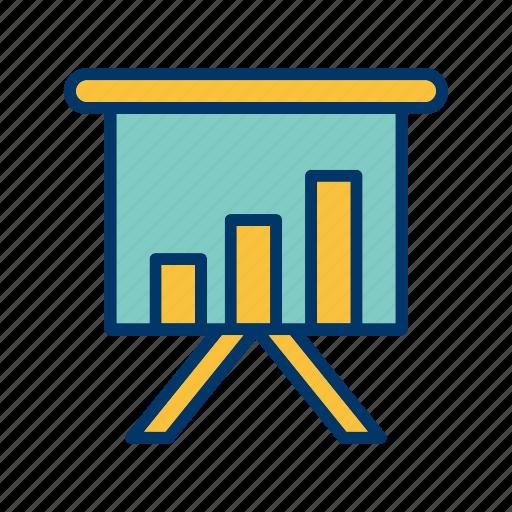 chart, office, presentation icon
