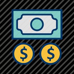 cash, investment, profit icon