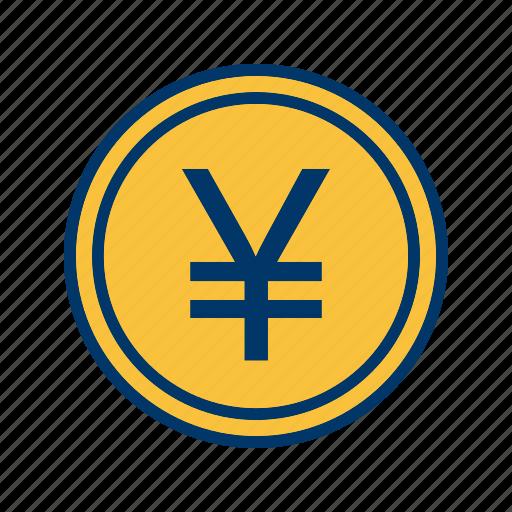 coin, money, yen icon