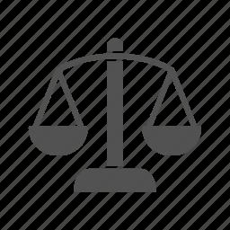 balance, justice, scales icon