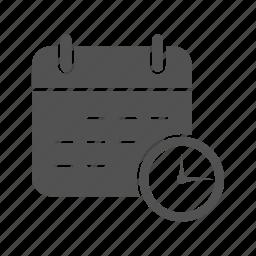 business, calendar, deadline icon