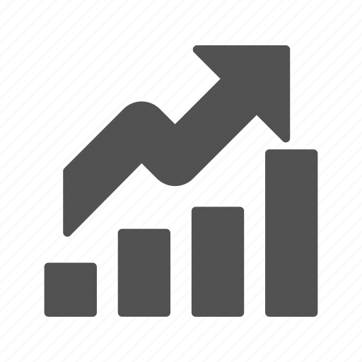 growth, profit, revenue icon
