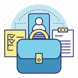 acountant, banking, files, finance, invest, money, save icon