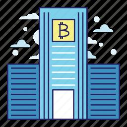 acountant, bank, banking, bitcoin, finance, illustration, money icon