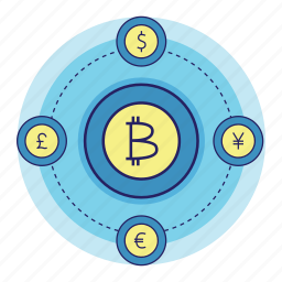 acountant, banking, bitcoin, converter, currency, finance, money icon
