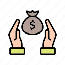 discount, saving, savings icon