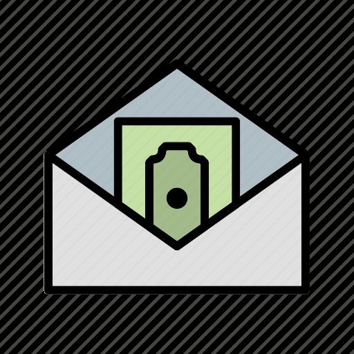 money, money envelope, money order, sending icon