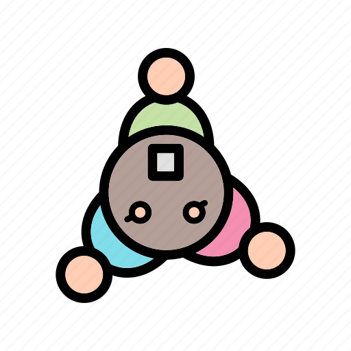 business, metting, network, team work icon