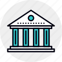 architecture, bank, banking, building, federal, government, institution icon