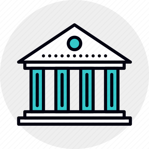 Architecture, bank, banking, building, federal, government, institution icon - Download on Iconfinder