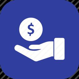 cashout, debt, loan icon