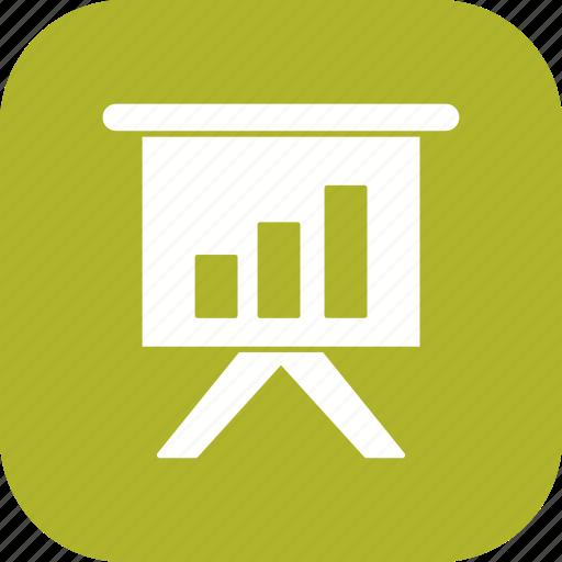 chart, presentation, statistics icon