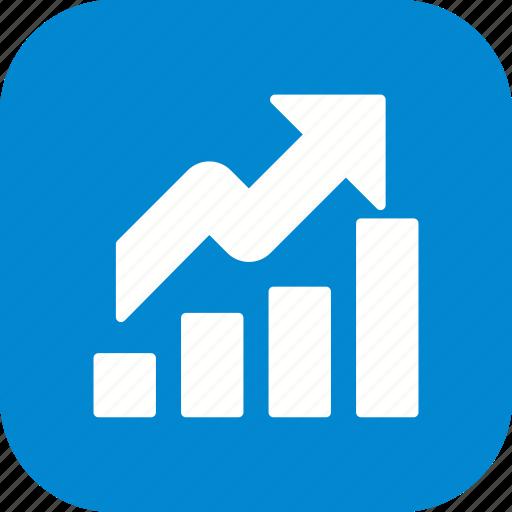 chart, growth, profit icon