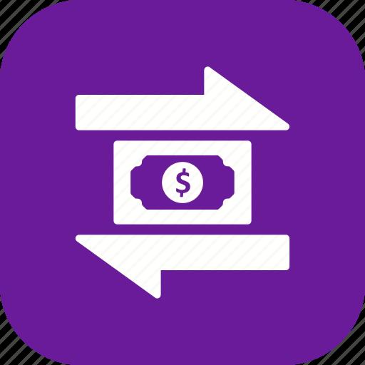 money, transaction, transfer icon