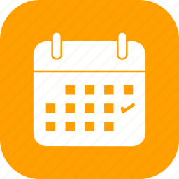 business, calendar, mark, schedule icon